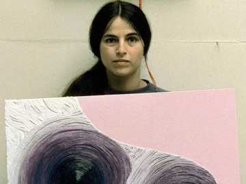 Film still from Eva Hesse