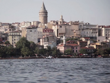 film still from up and down galata