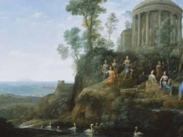 Claude Lorrain, Apollo and the Muses on Mount Helicon, 1680 (12.1050)