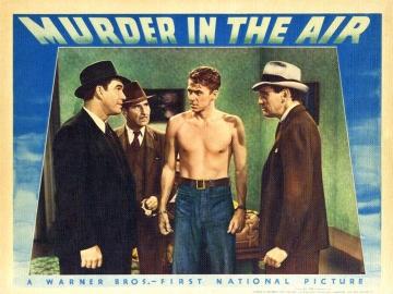 Murder in the Air Lobby Card