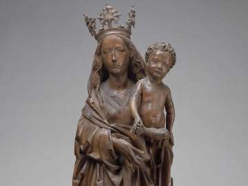 Tilman Riemenschneider's sculpture, Virgin and Child