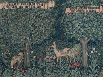 挂毯细节:绿化