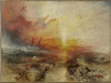 Slave Ship (Slavers Throwing Overboard the Dead and Dying, Typhoon Coming On)