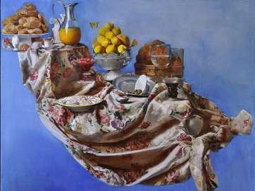 Samuel Gareginyan, Cloth of Plenty, 2015