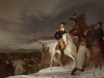 Thomas Sully, The Passage of the Delaware, 1819