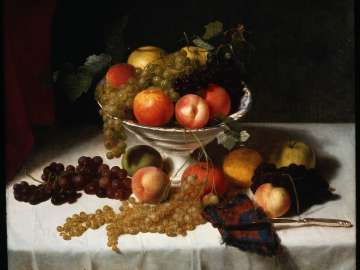 Still Life with Fruit in a Bowl