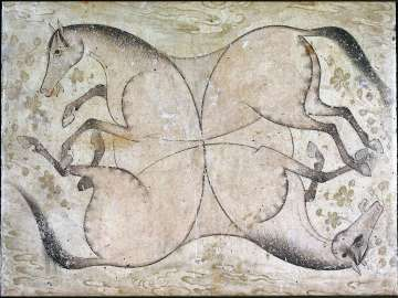 Four Interlaced Horses