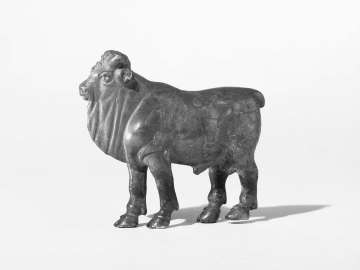Statuette of a bull