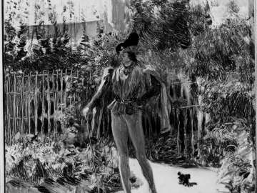 Man in Sixteenth-century Costume in a Garden