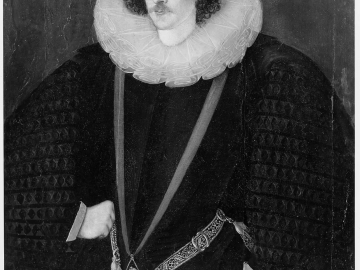 Robert Devereux, 2nd Earl of Essex, as a Knight of the Garter