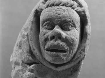 Corbel with Cowled Head