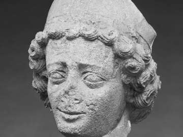 Head of A youthful Bishop