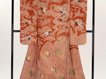 Wedding kimono (uchikake)