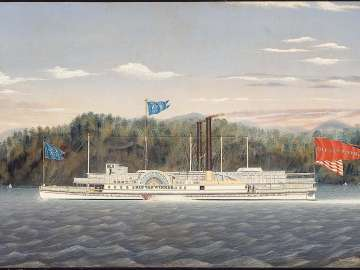 The Hudson River Steamboat