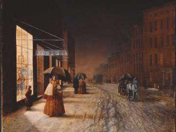 A Street in Winter: Evening