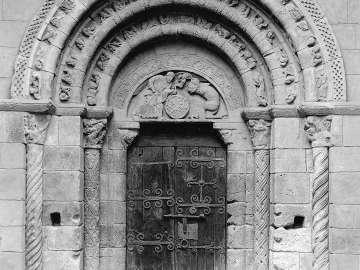 Portal facade and sculptural elements