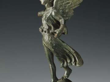 Statuette of flying Victory