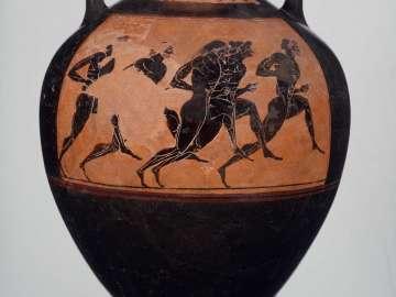 Panathenaic prize vase (amphora)