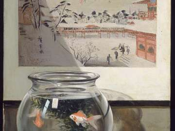 Hiroshige and the Goldfish