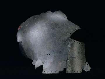 Helmet fragment