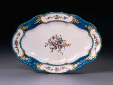 Platter from the Louis XV Service
