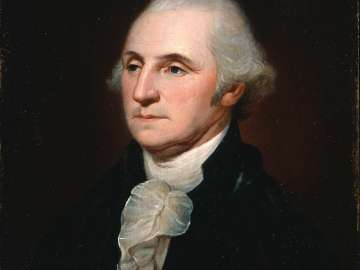 Head of Washington