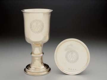 Communion Cup and Paten and Cover