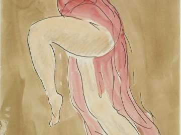 Study of a Woman Dancing