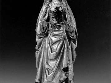 Figure of a Female Saint