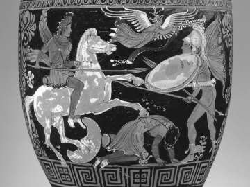 Situla with an Amazonomachy scene