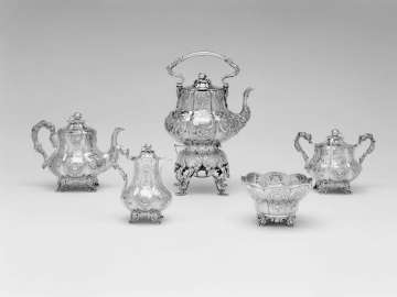Five-piece Tea Set