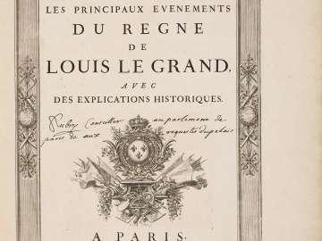 Médailles sur les principaux évènements du regne de Louis le Grand, avec des explications historiques