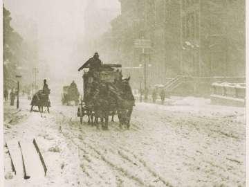 Winter, Fifth Avenue from the portfolio