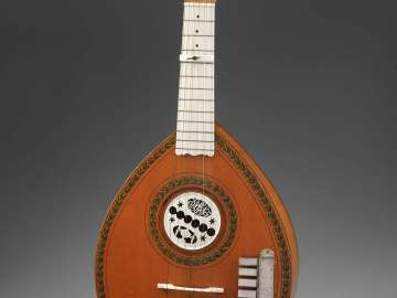 Keyed cittern (English guitar)