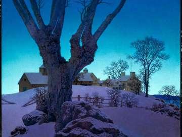 Hill Top Farm, Winter