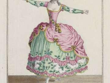 Gallerie des Modes et Costumes Français. 24e Cahier des Costumes Français, 18e Suite d'Habillemens à la mode en 1779.  Z.141