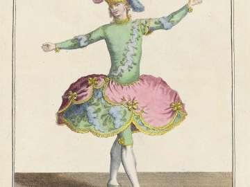 Gallerie des Modes et Costumes Français. 24e Cahier des Costumes Français, 18e Suite d'Habillemens à la mode en 1779.  Z.142