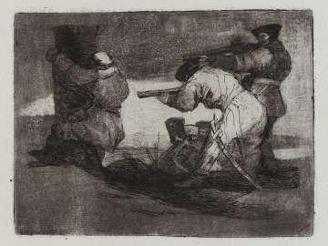 Bárbaros! (Barbarians!); Fatales consequencias de la sangrienta guerra en España con Buonaparte. Y otros caprichos enfaticos [Disasters of War], plate 38.