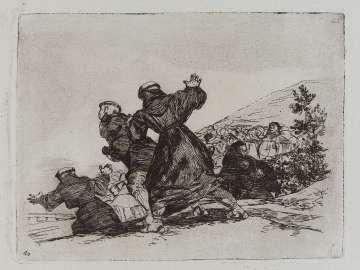 Tambien esto. (This, too..); Fatales consequencias de la sangrienta guerra en España con Buonaparte. Y otros caprichos enfaticos [Disasters of War], plate 43.