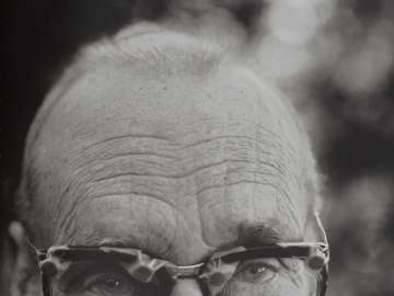 William S. Burroughs with Glasses, Kansas