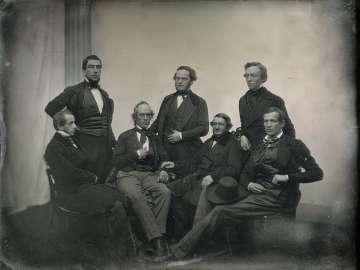 Seven Men in a Studio