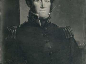 Painted Portrait of Brigadier General John McNeil, by Henry Willard