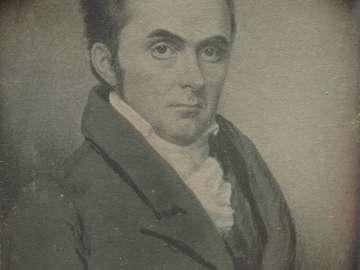 Watercolor Portrait of a Man (Daniel Webster?)