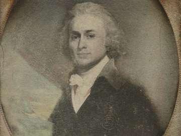 Painted Portrait of John Quincy Adams, by John Singleton Copley