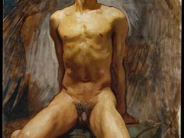Nude Study of Thomas E. McKeller