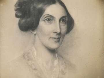 Crayon Portrait of a Lady, by Seth Cheney