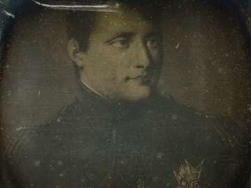 Painted Portrait of Napoleon