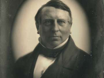 Baron James Rothschild, in Oval Vignette