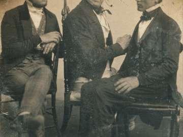 Charles Ebenezer Hawes, Josiah Johnson Hawes, and Albert Francis Hawes