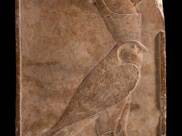 Votive plaque of Horus